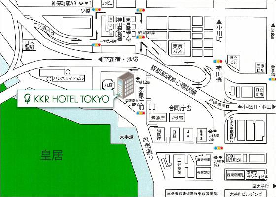 KKRホテル地図